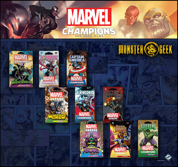 Marvel Champions Super Set