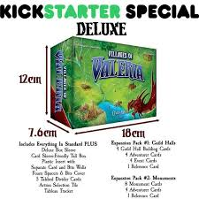 Villages of Valeria Kickstarter Special Deluxe