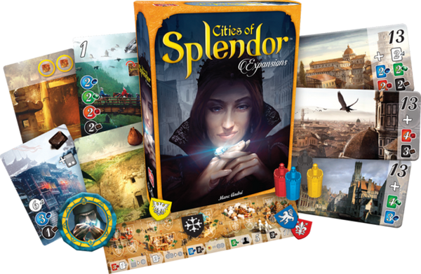 Splendor Expansion: Cities of Splendor 璀璨寶石:城市擴充