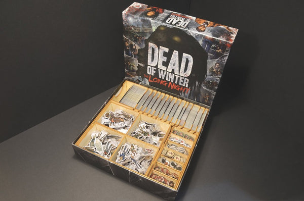 Wooden Insert - Dead of Winter : The Long Night 死亡寒冬:漫漫長夜 木製收納盒