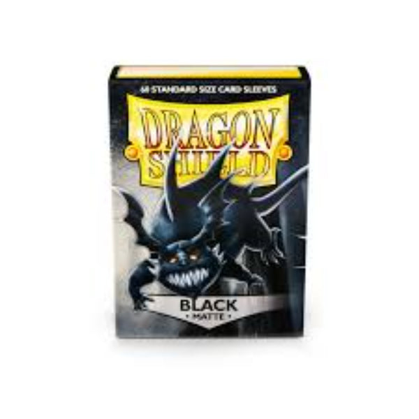 Dragon Shield Matte Black 60pcs