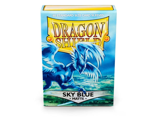 Dragon Shield Matte Sky Blue 60pcs