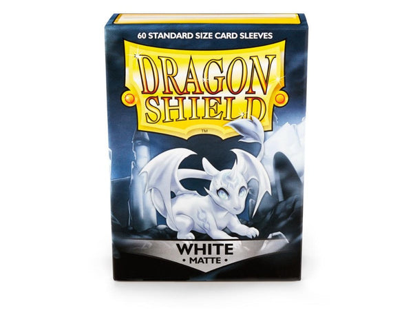 Dragon Shield Matte White 60pcs