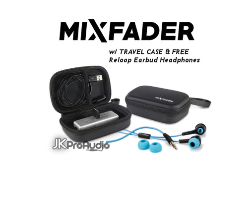 MIXFADER Crossfader w/ Travel Case and FREE Headphones