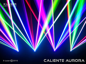 X-Laser Caliente Aurora Dual Color Agrial Pro Laser System Club Pack (4 Pack)