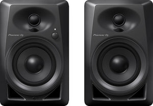Pioneer DM-40 4-inch compact active monitor speakers (PAIR)