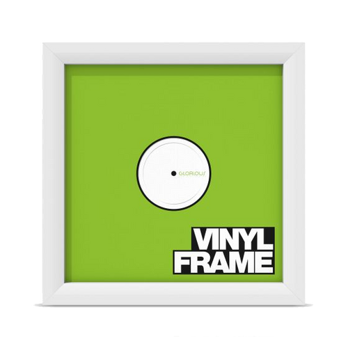Glorious Vinyl Frame Set White - Set of 3