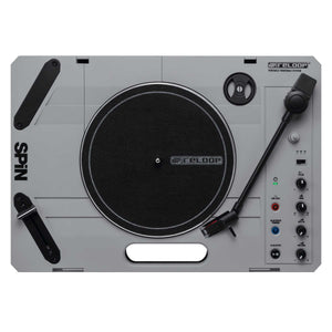 "RELOOP SPiN Portable Turntable W/ 7"" Battle Record, Innofader Slipmat, and FREE Batteries"