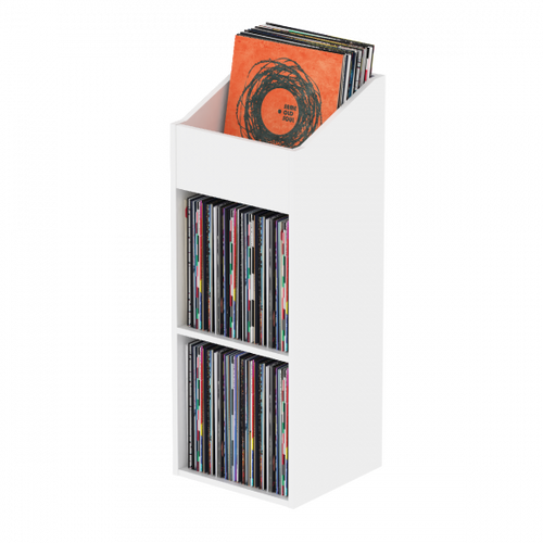 Glorious Record Rack 330 White - Advanced Vinyl Station