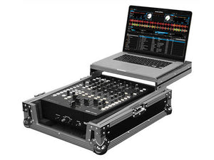 "Odyssey FZGS12MX1 Universal 12"" Format DJ Mixer Case With Glide Platform"