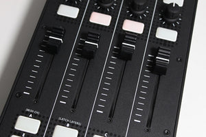 Xone:K2 Fader section