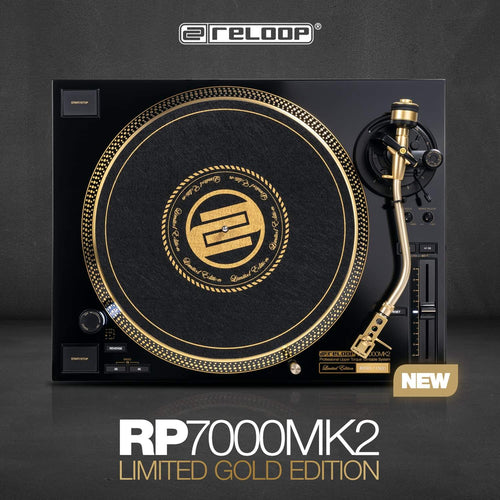 Reloop RP-7000 MK2 GLD Limited Edition (B-Stock)