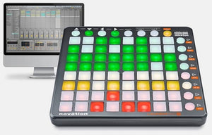 Novation Launchpad S shown with Ableton