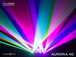 X-Laser Aurora 4C Quad Head Full Color Laser