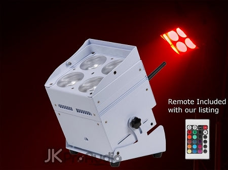 ColorKey MobilePar Hex 4 White LED Par