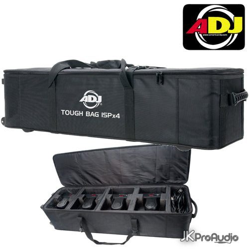 ADJ Tough Bag ISPX4 Travel Case for 4 Inno Pocket Series fixtures