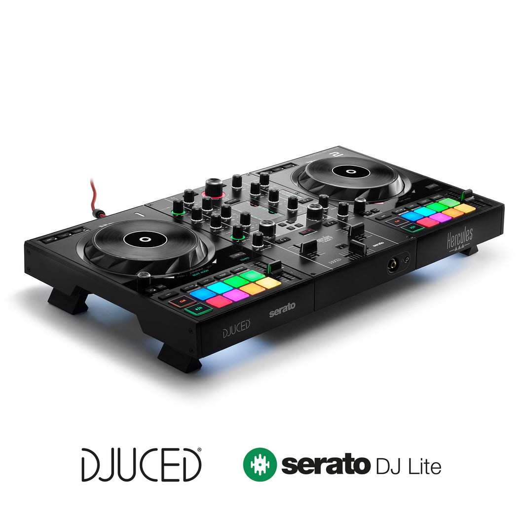 Hercules DJControl Inpulse 500 2 deck USB DJ controller for Serato DJ and DJUCED