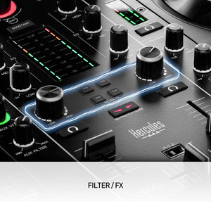 Hercules DJControl Inpulse 500 2 deck USB DJ controller for Serato DJ and DJUCED (B-STOCK)