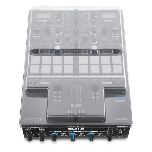 Decksaver Protective Dustcover for Reloop ELITE 2 Channel Serato Mixer
