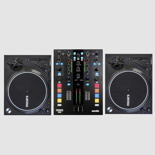 Mixars Bundle w/ Mixars Duo MK2 And 2 Mixars STA Turntables