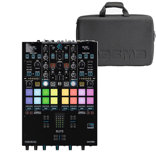 Reloop ELITE Two Channel Serato DJ Pro Mixer W/ FREE Case