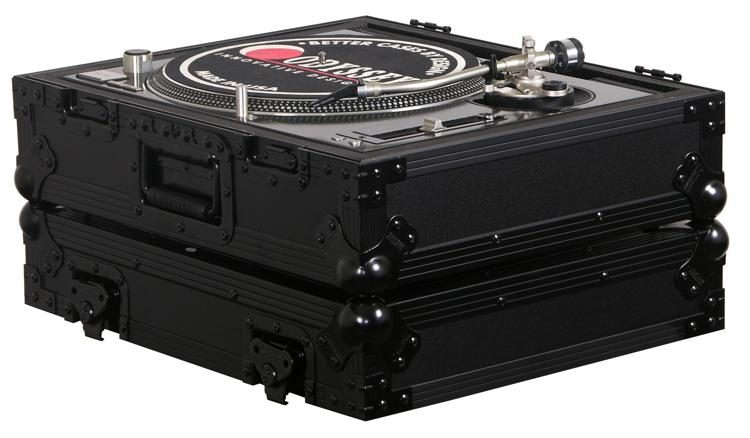 Odyssey FZ1200BL Universal DJ Turntable Case Black Label