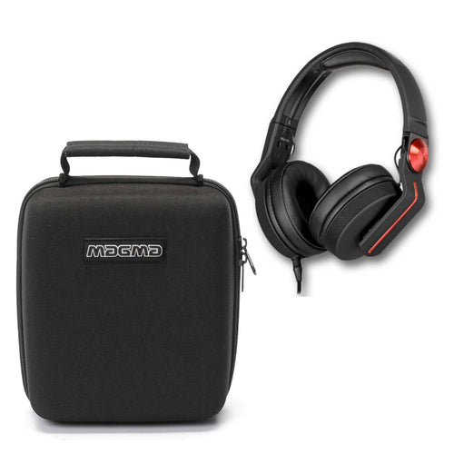 Pioneer HDJ-700 Red w/ Magma Headphone Case