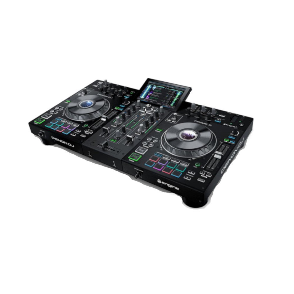 Denon Prime 2 Professional 2-Deck Smart DJ Console W/ Built-In WiFi