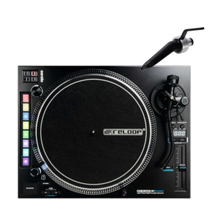 Reloop RP-8000mk2 Advanced Hybrid Turntable w/ MIDI feature section and FREE Ortofon Needle