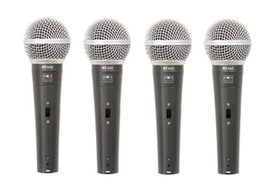Galaxy Audio RT-66SX Dynamic Microphone (4pcs)