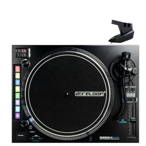 Reloop RP-8000mk2 Advanced Hybrid Turntable w/ MIDI feature section and FREE OM Needles