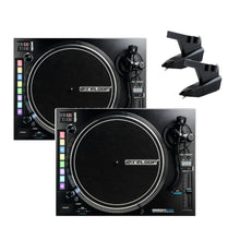 Reloop RP-8000mk2 (PAIR) Advanced Hybrid Turntable w/ MIDI feature section and FREE OM Needles
