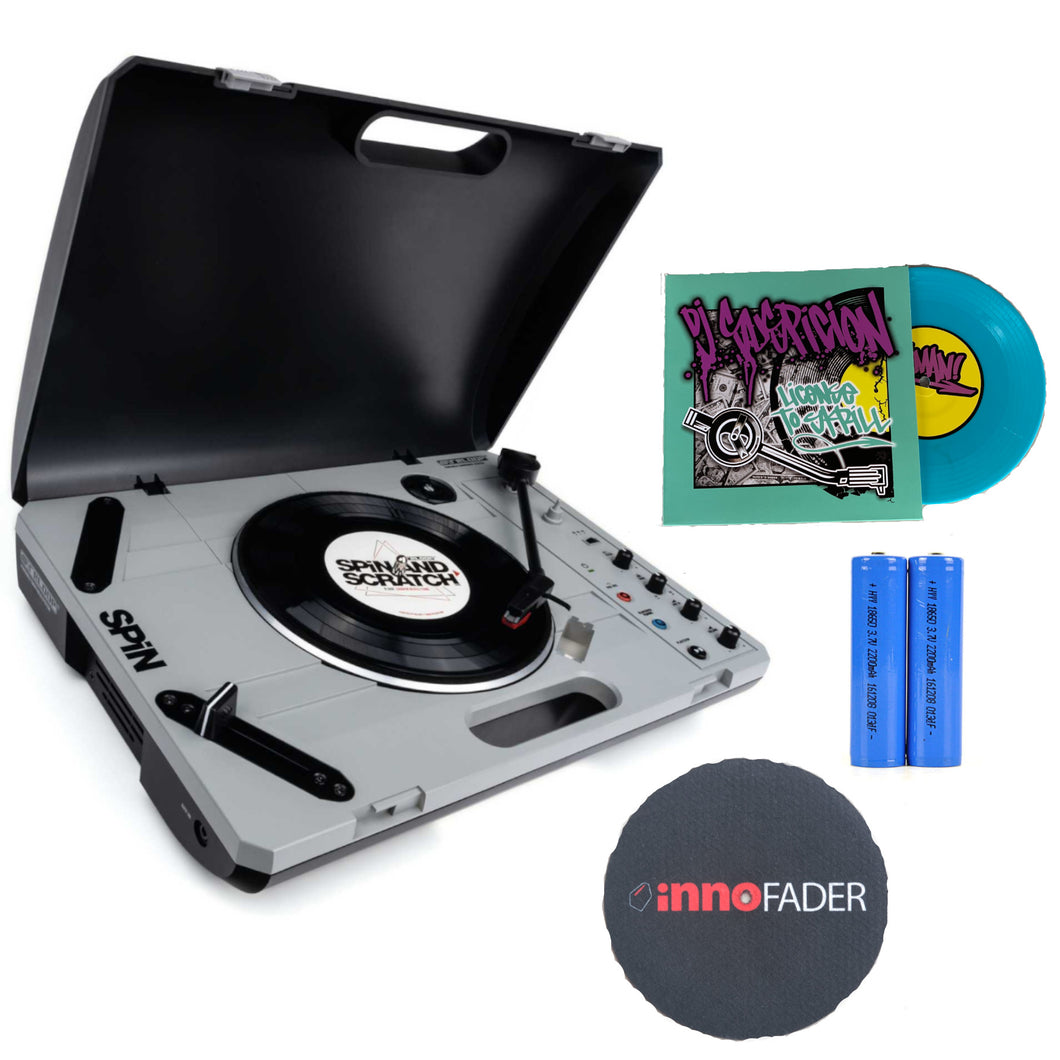 RELOOP SPiN Portable Turntable W/ 7