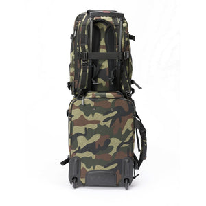 Magma DIGI DJ-Backpack, Camo-Green/Red