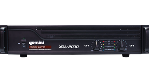 Gemini XGA-2000 Professional Power Amplifier