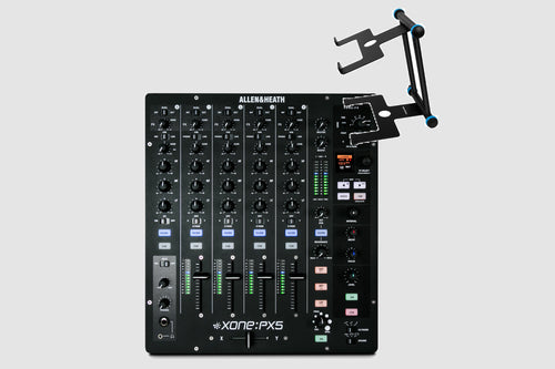 Allen & Heath Xone:PX5 DJ Mixer w/ FREE Laptop Stand