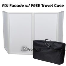 American DJ ADJ Event DJ Facade in White with free travel bag