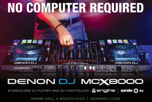 Denon MCX8000 Stand alone DJ Player and DJ Controller