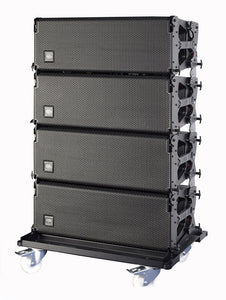 "D.A.S. Event 210A Dual 10"" Powered 3-way Line Array System with DASlink and DAScontrol"