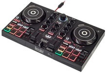Hercules DJControl-Inpulse200 Controller w/ built-in sound card, dynamic light, IMA