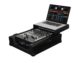 "Odyssey Black Label FZGS12MX1BL Universal 12"" Format DJ Mixer Case With Glide Platform"