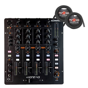 Allen & Heath Xone:43 DJ Mixer W/ Cables