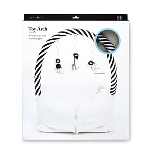 Toy Arch for Deluxe+ Dock - Black/White