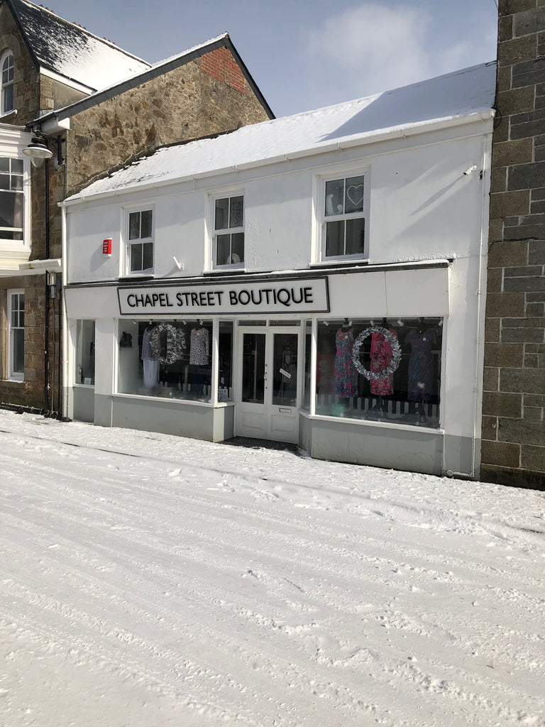 Chapel Street Boutique Shop snow beast from the east