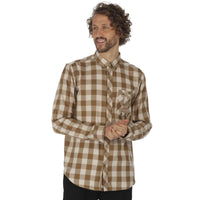 THE LOMAN LONG SLEEVED CHECKED SHIRT