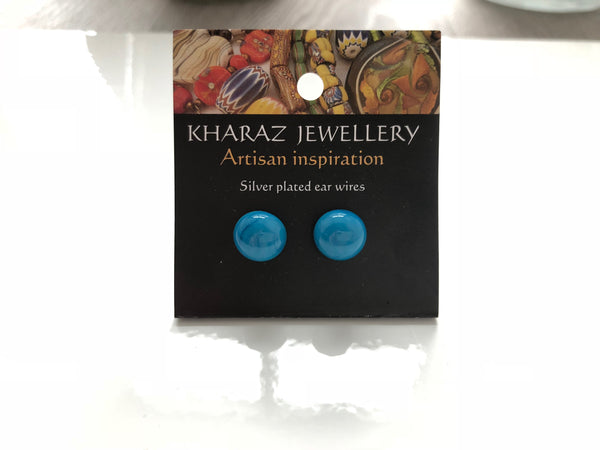 Beautiful Murano Glass Studs