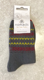 Organic Cotton Nordic knit Socks