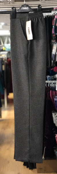 Grey Dogtooth Trousers save £7