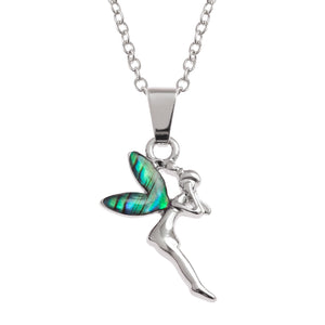 Paua Shell Fairy Necklace