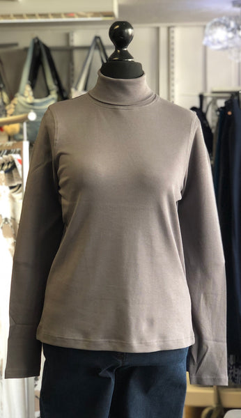 Cotton Roll Neck Top save £13